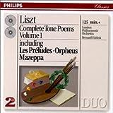 Liszt : Intégrale des Poèmes symphoniques - Vol. 1