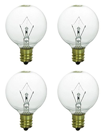 or Mid-Sized Scentsy Wax Fragrance Warmers / Diffusers, Pack of 4 Bulbs (Bulb Diffuser)
