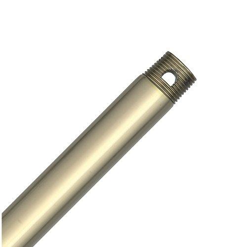 Hunter 26313 24-Inch Downrod, Hunter Bright Brass - Hunter Brass Ceiling Bright Fan