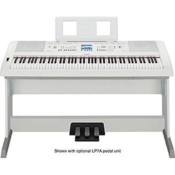 yamaha dgx650wh digital piano musical instruments. Black Bedroom Furniture Sets. Home Design Ideas