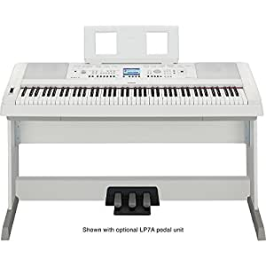Yamaha DGX650WH Digital Piano