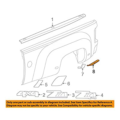 Genuine GM 25865751 Wheelhouse Panel Protective Film, Rear: Automotive