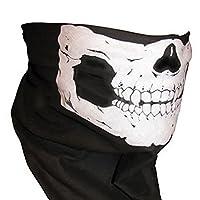 Skeleton Schädel Bandana Snowboard Skifahren Motorrad Biking Rave Maske...