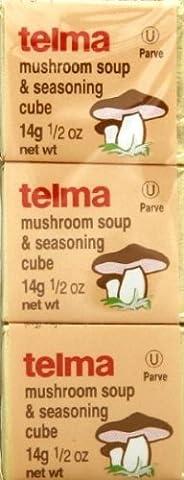 TELMA SEASNG CUBE MUSHROOM 3PK, 1.5 OZ - Telma Mushroom Soup