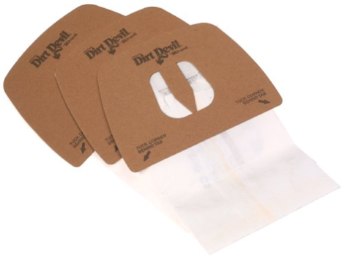 Genuine Dirt Devil Style F Bags- 3-pack