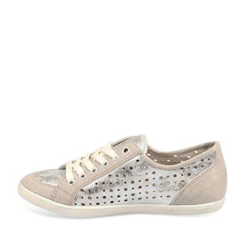 MERRY SCOTT ,  Sneaker donna argento METALLISE 39