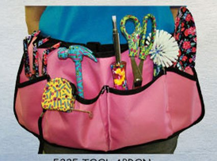 TOOL HOLDER FOR LADIES-WITH FREE 4 IN 1 FLORAL SCREW DRIVER by PRETTY TOOLS