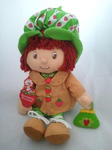 Strawberry Shortcake Coat - Strawberry Shortcake X Large Tan Coat Plush Toy Cuddle Doll - 18