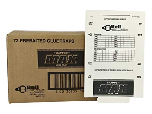 Trapper Max Mouse & Insect Glue Boards-72 Boards