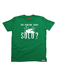 BM Men's Did Someone Shout Solo Drums T-SHIRT Funny Christmas Casual Birthday Tee
