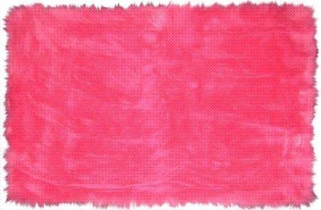LA Rug FLK-003 3958 Flokati Hot Pink Area Rug, 39