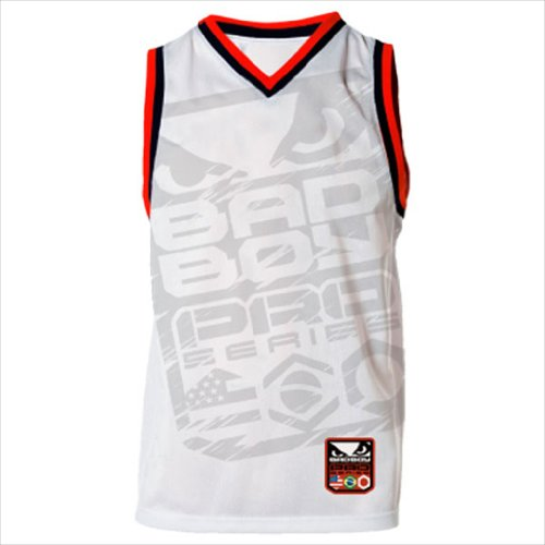Bad Boy Jersey Tank (White, XX-Large) (Tank Top Men Boy Bad)