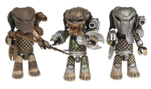 Buy mezco mez-itz predator 3 action figure set