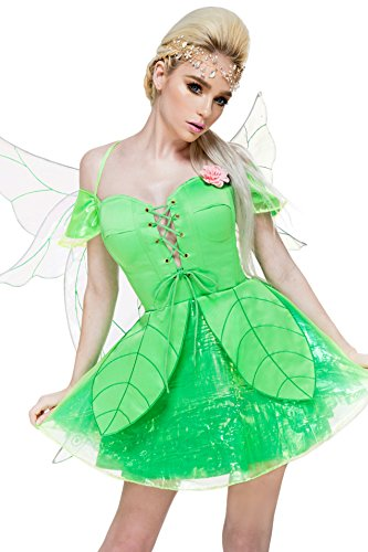 Enchanted Garden Costume (Forest Fae Fairy Costume (3X Plus))
