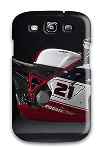 Benailey Fashion Protective Ducati Motorcycle Case Cover For Galaxy S3
