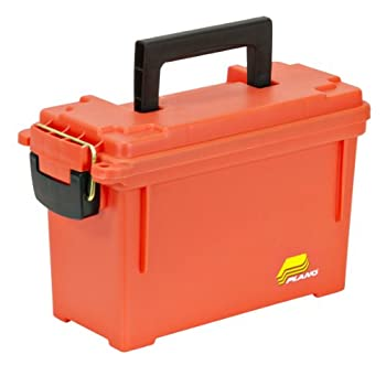 Plano 131252 Dry Storage Emergency Marine Box, Orange 0