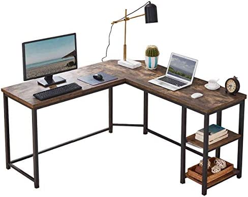 FurniChoi L Shaped Desk