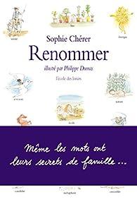 Renommer par Sophie Chérer