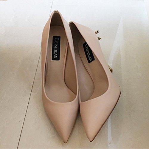 High Sexy Heeled mit Weiblichen Schuhe Spitzen Y D Schuhe L q05pw