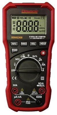 Dawson Tools DDM230B Digital Multimeter with USB