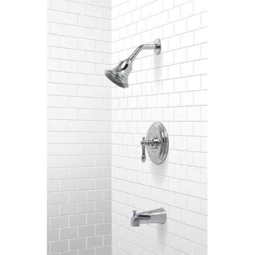 low-cost Premier 120353 Charlestown Single-Handle Tub & Shower Faucet, Chrome