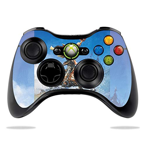 MightySkins Skin Compatible with Microsoft Xbox 360 Controller - Headless Horseman | Protective, Durable, and Unique Vinyl wrap Cover | Easy to Apply, Remove, and Change Styles | Made in The USA -