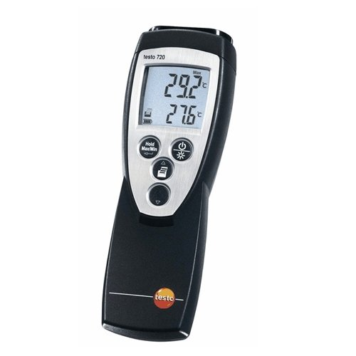 Testo 0560 7207 ABS Precise Temperature Measuring RTD Thermometer, -150 to 1472 Degree F Range, 0.1 Degree F Resolution, 9V Battery