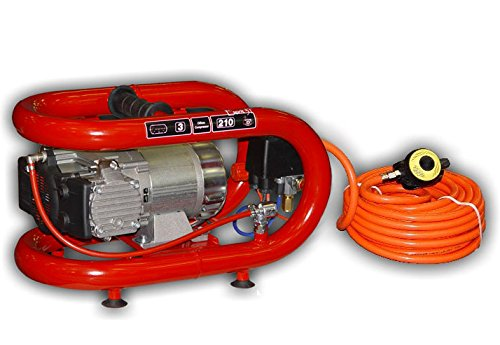 Diving System - NARDI Esprit 3T Electric Compressor 50' Hose Hookah System Scuba Diving Third Lung Surface Air New