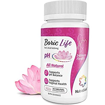 Boric acid for vaginal washes