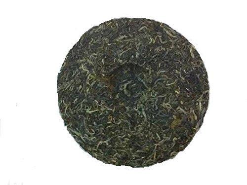 Pu erh black tea, Premium grade unfermented 714 grams tea cake bamboo box packing