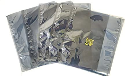 "100 ESD Anti-Static Shielding Bags 10/""x12/"" in Open-Top,... 254mm x 305mm"