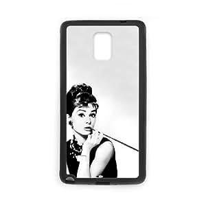 Samsung Galaxy Note 4 Cell Phone Case Black Audrey Hepburn hypl
