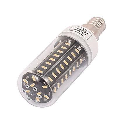 eDealMax CA 110V New Super brillante E14 8W 72 LED 4014 SMD ahorro de energía lámpara
