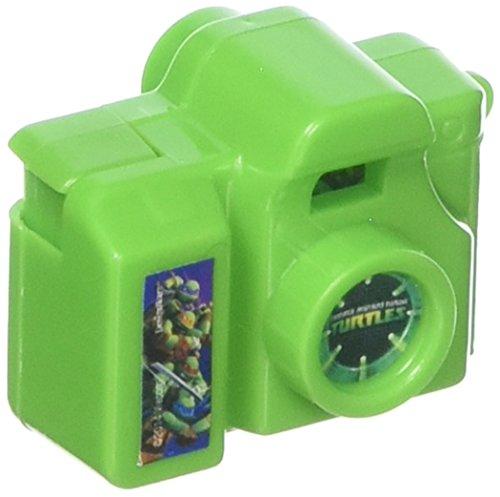 "Totally Tubular Teenage Mutant Ninja Turtles Party Clicking Toy Camera Favour, Plastic, 1"""