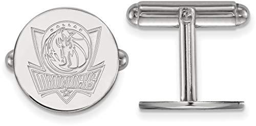 Sterling Silver NBA Dallas Mavericks Cuff Links by LogoArt