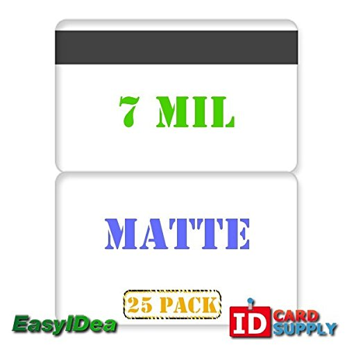 QTY: 25 | 7 mil Matte Butterfly Laminating Pouch with Hi-Co Magnetic Stripe by easyIDea