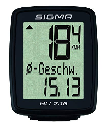Sigma Sport BC 7.16 Wired Bicycle Computer by Sigma Sport (Image #1)