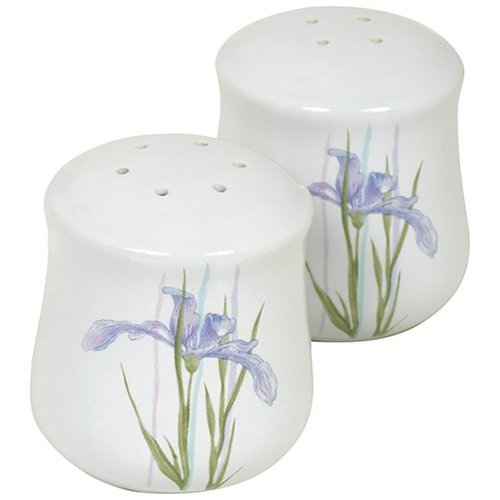 Corelle Coordinates Shadow Iris Salt and Pepper Shaker Set