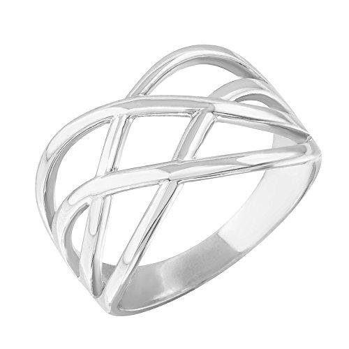 White Gold Celtic Knot - 9