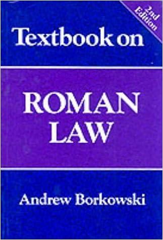 PDF-Datei-Ebook herunterladen Textbook on Roman Law ePub
