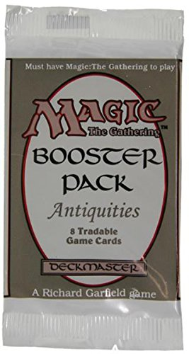 Magic The Gathering Card Game - Antiquities Booster Pack - 8 cards B000RLURSC