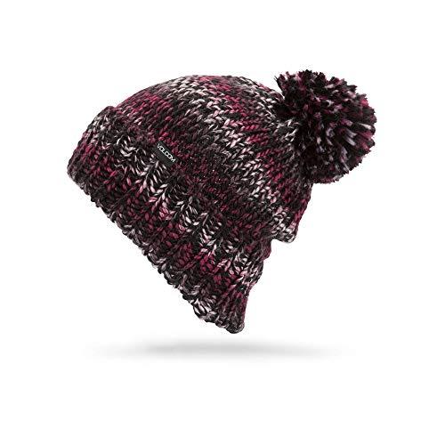 Beanie Volcom Winter (Volcom Women's Chevron Chunky Silk Acrylic Yarn Snow Beanie)