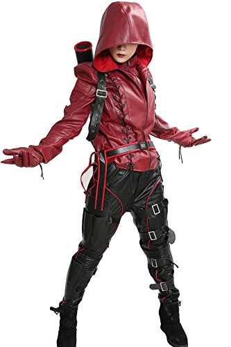 Roy Harper Arrow Costume (XCOSER Arrow Costume Outfit for Adult Arsenal Speedy Halloween Cosplay M)