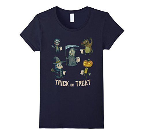 Last Minute Halloween Costume Ideas For Work (Womens Trick or Treat - Halloween Costume idea for Girls Boys Small Navy)
