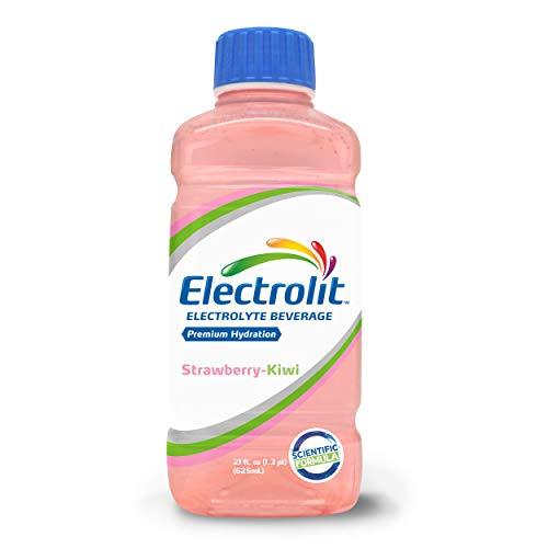 Electrolit Electrolyte Hydration & Recovery Drink, 21oz, Strawberry Kiwi, 12 Pack