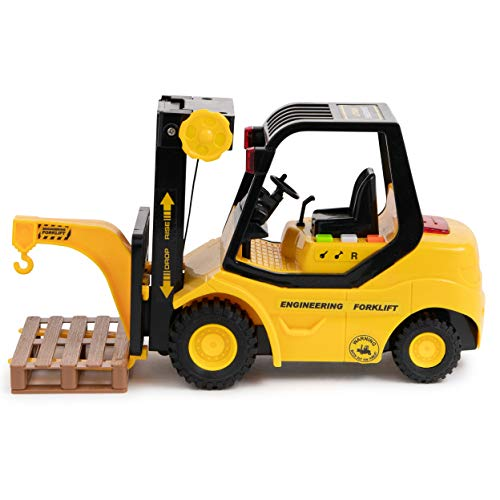 Toy To Enjoy Forklift Truck with Pallet & Cargo -