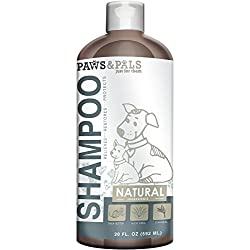 Paws & Pals Natural Oatmeal Dog-Shampoo And Conditioner - 20oz Medicated Clinical Vet Formula Wash For All Pets Puppy & Cats - Made with Aloe Vera for Relieving Dry Itchy Skin