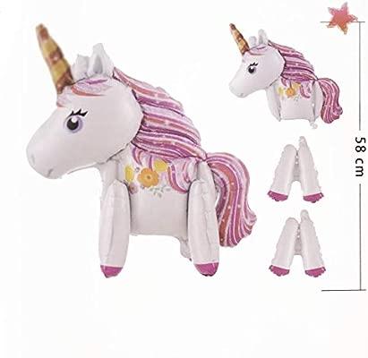 Party Globo Unicornio Hinchable 58cm - Grande Fiestas: Amazon.es ...