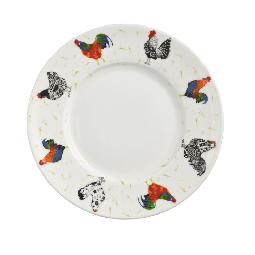 Ulster Weavers Rooster Bone China Side Plate, 7.5-Inch
