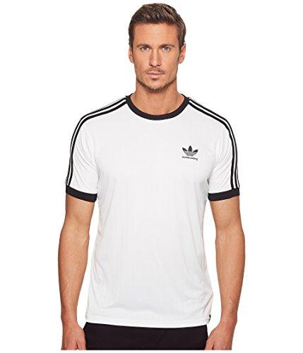 Adidas Jersey - adidas Originals Men's Skateboarding Clima Club Jersey, White/Black, L